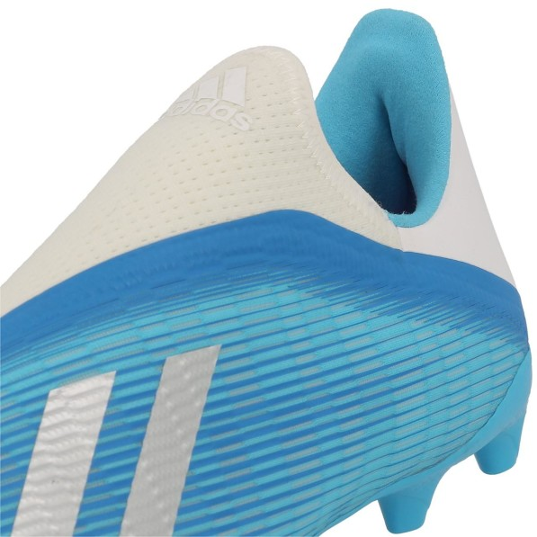 Chaussures Football Crampons Lamelles Homme Adidas X 19.3 ll fg sans lacet