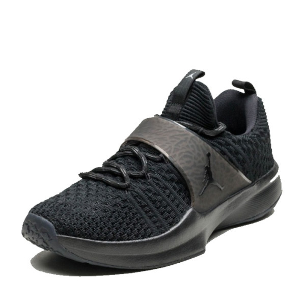 Chaussures Trainer 2 Jordan Flyknit Noires SLMpUzGqVj