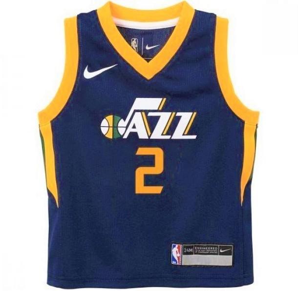 the latest 810ad 6cbad Basket-Ball Jerseys Kids Outerstuff Tod Icon Replica Jersey Utah Jazz Joe  Ingles Navy