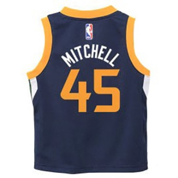 newest 49379 44494 Basket-Ball Jerseys Kids Outerstuff Tod Icon Replica Jersey Utah Jazz  Donovan Mitchell Navy