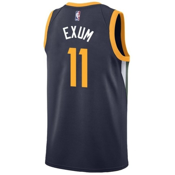 ecf9031b6a44 Basket-Ball Jerseys Men Nike Icon Swingman Jersey Utah Jazz Dante Exum Navy
