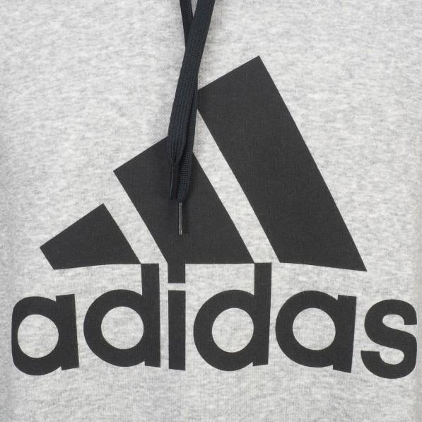 sweat capuche adidas gris homme m sid logo