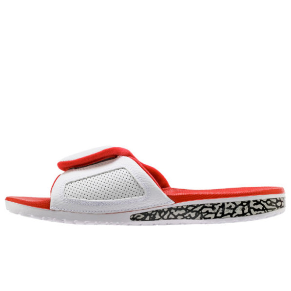 check out e418e c72fc Sandals Jordan Hydro III Retro Slide White