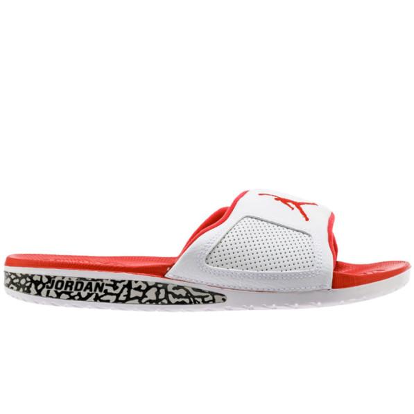25932b071f3945 Sandals Jordan Hydro III Retro Slide White