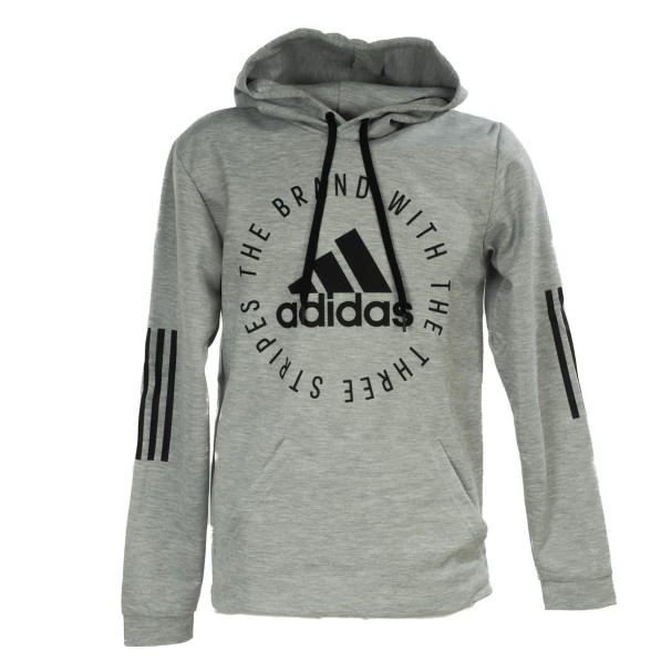 Sweat Multisport Homme Capuche Adidas Sid po gris chine cap sw