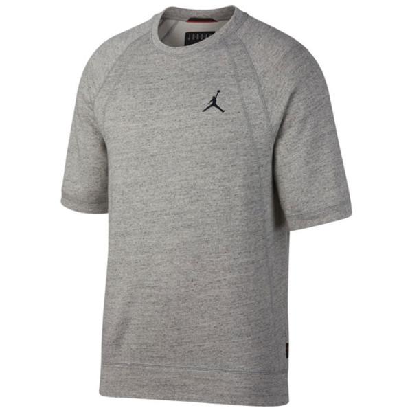 ee97634165 ... Sweat manches courtes Jordan gris. -60%