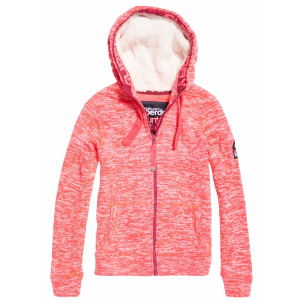 Sweat Superdry Storm Colour Pop Fusion Pink Magenta