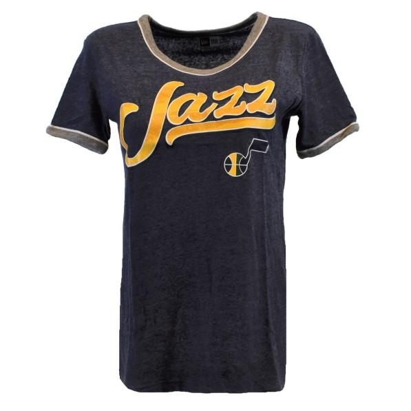 online retailer c3141 201b5 New Era Apparel T-Shirts Women W Sharp Dressed Tee Utah Jazz ...