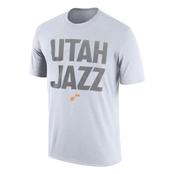 cheaper 2e978 ddb8f T-Shirts Men Fanatics AlexCompTee Utah Jazz White