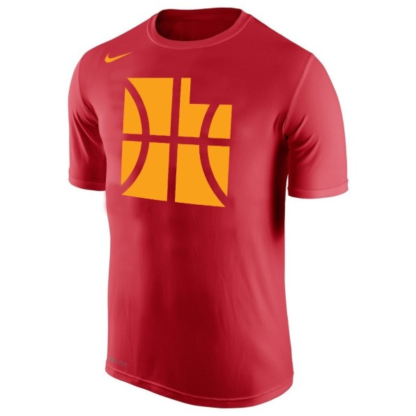 timeless design 8edc9 746db T-Shirts Men Nike City Edition Dry Essential Tee Utah Jazz Red