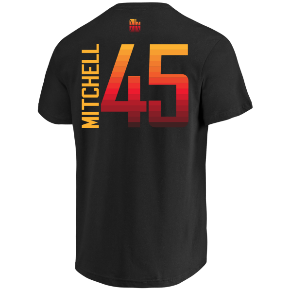 brand new d2a78 bd9ea Name & Number T-Shirts Men Majestic 17 City Edition Custom N&N Tee Utah  Jazz Donovan Mitchell Black