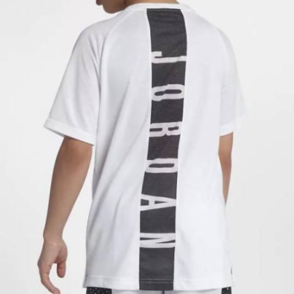 fb718f2cb8655b T-shirt Jordan 23 Alpha Unisex White