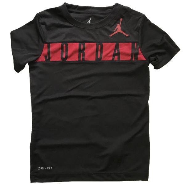 Air Jordan T-shirt Jordan Dri-fit Junior Black - Rudy Gobert 8aa00133a10d