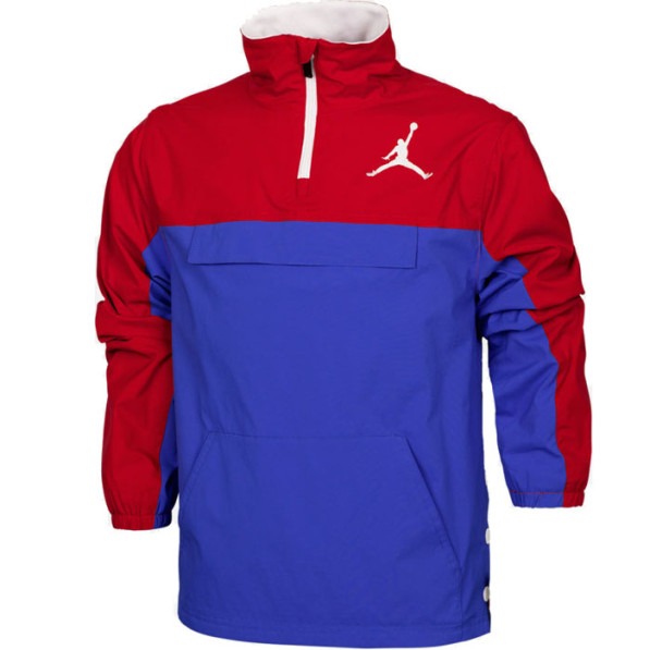 1b825b93f0 Jacket Air Jordan Anorak Unisex Blue