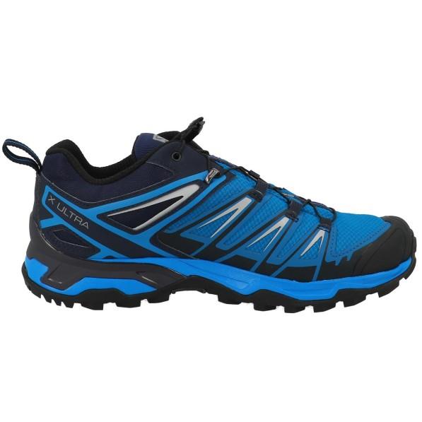 gtx Trekking X 3 blue Basse Homme Randonnée Salomon Chaussures ultra m0wvN8On