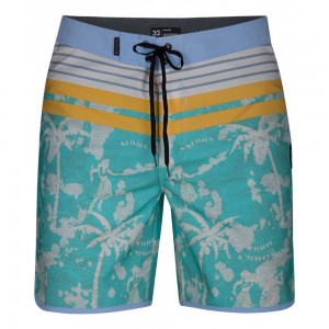 Boardshort Hurley Phantom Aloha Twist Aurora Green