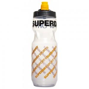 Gourde Superdry Sports Plastic Bottle Grey Aop