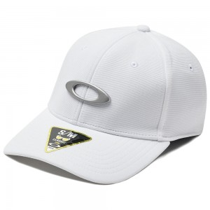 Casquette Oakley Tincan Cap White / Grey