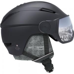 Casque De Ski Salomon Icon² Visor Black / Silver