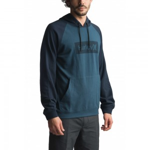 Sweat à Capuche Hurley One & Only Box 2.0 Obsidian