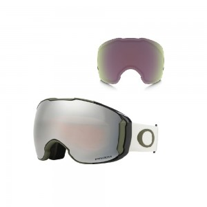 Masque de Ski Oakley Airbrake Xl Dark Brush Grey Prizm Black & Hi Pink
