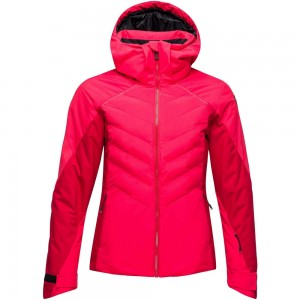 Veste De Ski Rossignol W Courbe Jacket Rose Wood