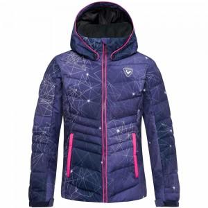 Veste De Ski Rossignol Girl Polydown Pr Jacket Aquarela
