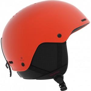 Casque De Ski Salomon Brigade Orange Pop