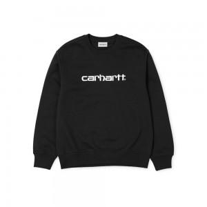 Sweat Carhartt Sweatshirt Black / White
