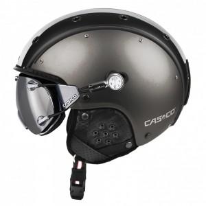 Casque De Ski Casco Sp-3 Comp Gunmetal / White