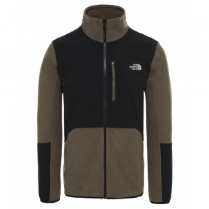 Polaire The North Face M Glacier Pro Full Zip New Taupe Green/Black