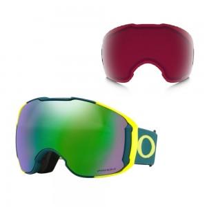 Masque de Ski Oakley Airbrake XL Balsam Retina Prizm Jade & Prizm Rose