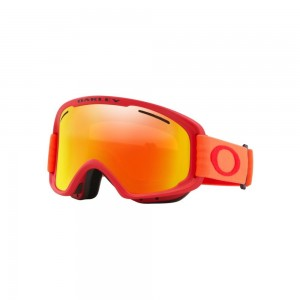 Masque de Ski Oakley O Frame 2.0 Pro Xm Red Neon Fire & Persimmon