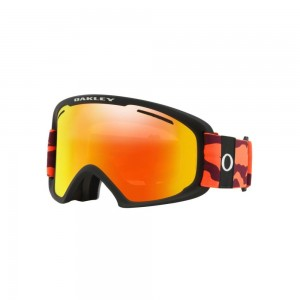 Masque de Ski Oakley O Frame 2.0 Pro XL Neon Orange Fire & Persimmon