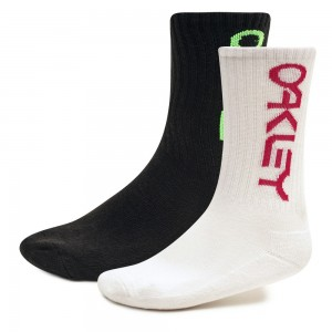 Chaussettes Oakley B1B Socks White