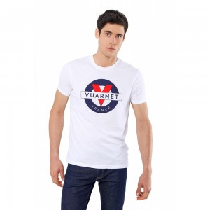T-shirt Vuarnet Logo Apparel Mod Tee SS White