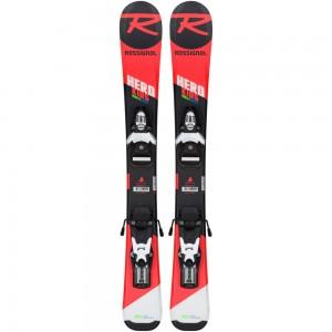 Pack Ski Rossignol Hero Pro + Team 4 Gw Black