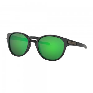 Lunettes Oakley Latch Key Matte Black / Prizm Jade
