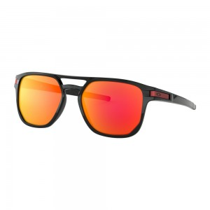 Lunettes Oakley Latch Beta Polished Black / Prizm Ruby