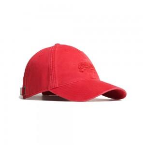 Casquette Superdry Orange Label Cap Solar Red