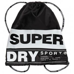 Sac à Dos Superdry Drawstring Bag Black