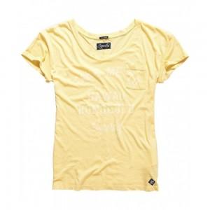 T-shirt Superdry Graphic Pocket Tee Island Yellow