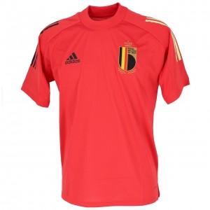 Maillot Réplica Football Homme Manches Courtes Adidas Belgique maillot train 2020
