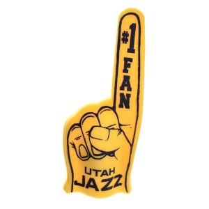 Main de Supporter Rico Foam Finger Utah Jazz Yellow