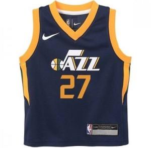 Basket-Ball Jersey Kid Outerstuff Tod Icon Replica Jersey Utah Jazz Rudy Gobert Navy