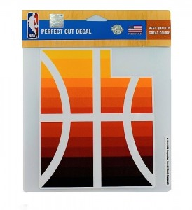 Stickers Gifts & Souvenirs Wincraft Primary CE Logo Decal 8x8 Utah Jazz