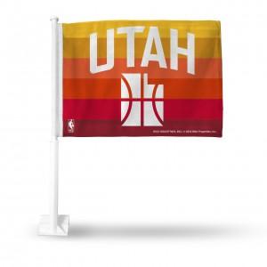 NoveltyAutoCar Rico City Edition Car Flag Utah Jazz Orange