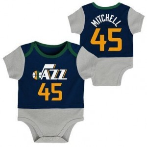 Outerstuff Inf Referee Coverall Utah Jazz  Navy