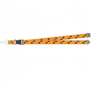 Lacet Textile Badge Cadeaux & Souvenirs Aminco Statement Edition Lanyard Utah Jazz Gold