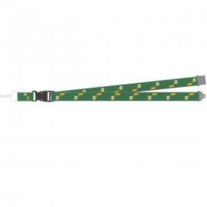 Lacet Textile Badge Cadeaux & Souvenirs Aminco Earned Edition Lanyard Utah Jazz Green